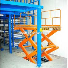 электрический грузовой лифт для склада