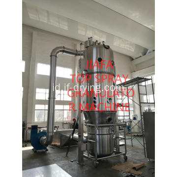 Mesin pengeringan granulator fluid bed