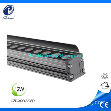 12W alumínio IP65 facede led wall washer