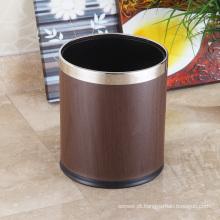 Armazém em aço inoxidável redondo aberto Top High-End 10L Waste Kash (K-10LA)