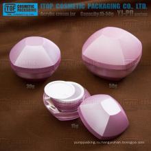 YJ-PD серии 15g 30g 50g высокая очистить пустые контейнеры Акриловый крем