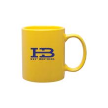 11 oz Glazed stoneware c-handle Coffee Mug