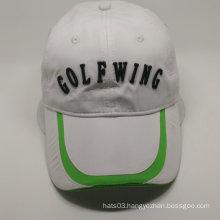 custom golf patch cap in polyester