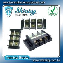 TB-150 Tipo de ensamblaje 150A Cualquier polo PCB Bloque de terminales sin tornillos