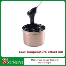 Offset ink textile printing ink for qutomatic machine