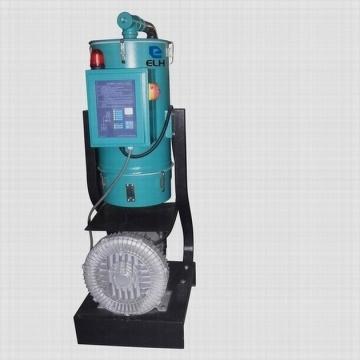 Separar-tipo cargador de tolva vacío de tres fases para materiales plásticos del gránulo