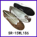 fashion new flat styles old women shoes shoe for old lady leather mother shoes