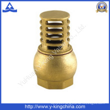 High Quality Thread Brass Foot Valve (YD-3004)