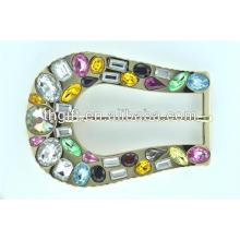 Kundenspezifische Metallgürtelschnalle mit Juwelüberzug