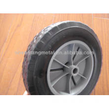 8x1.75 Inches Solid Rubber Wheel With Plastic Rim