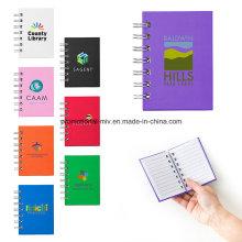 Cuadernos de bolsillo con conexión de cables para regalos promocionales