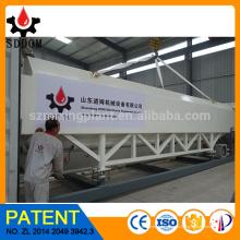 Silos de armazenagem, sistemas de silo de farinha, silo de cimento horizontal