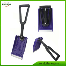 Foldable Car Lodaing Shovel with Plastic Head