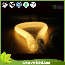 (Redondo 360) Tubo de neón del LED con los pernos Conecte el alambre de poder / el neón
