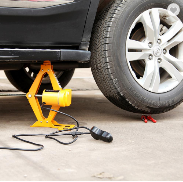 electric lifting car jack