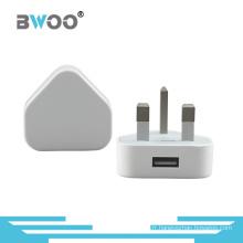Vente chaude UK Plug Chargeur de voyage USB Chargeur de puissance