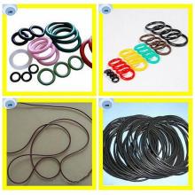 Muchos tamaños de anillos O de goma de calidad superior en materiales de Viton, NBR o silicio