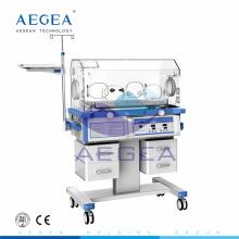 Incubadora recién nacida de la atención sanitaria del bebé de las ventanas del grado superior AG-IIR003 CE ISO de lujo para la venta