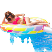 Inflatable Instant Swimming Air Floating UP Pole High Quality Style Pool Party Animal Toy Floating Row