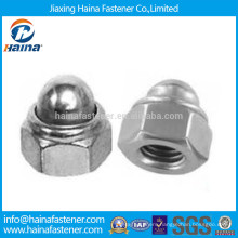DIN986 Stainless Steel A2-70 Hex Cap Nut In Stock