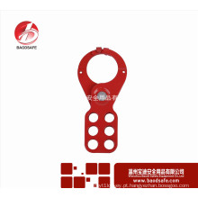 Wenzhou BAODI Economia Steel Lockout Hasp com alças BDS-K8624 Vermelho