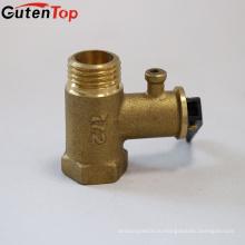"""GutenTop завод высокое качество Латунь 1/2"""" предохранительный клапан с латунь цвет для электрического нагрева воды"""