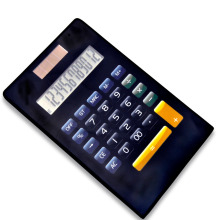 Dual Power 12 Digits Calculatrice électronique pliante