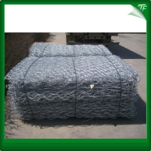 PVC-coated black gabion basket panel