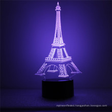 Indoor Home Decor Gifts New 3D Color-Changing Touch Control LED Desk Table Night Light