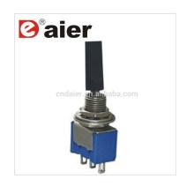 Daier MTS-102-E1 3 pines con tapa plástica de palanca plana