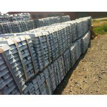 Alliage de zinc / 98,7-99,995% Alliage de zinc Utiliser une lingote spéciale de zinc à haute teneur