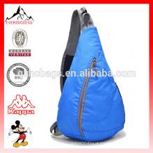 Peito Pacote Dobrável Cross Body Bag com Alça de Ombro Ajustável para Ciclismo Caminhadas Camping Viagem