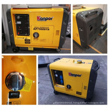 New Model5.5kw Max 6kw Single Phase 188fe Electric Start Air Cool Silent Generator