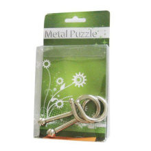 Kleine 3D IQ Metalldraht Puzzle Spiele