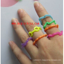 Non-Toxic Silicone Rubber Finger Ring