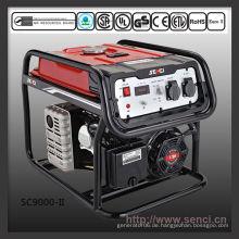 SC9000-II 50Hz tragbarer 8kva Benzingenerator