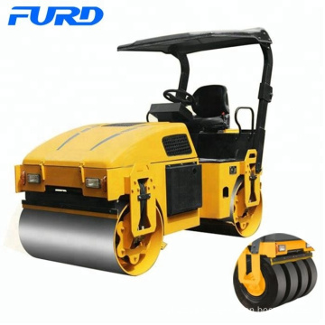 Combination Roller Smooth Drum and Tires FLD-300