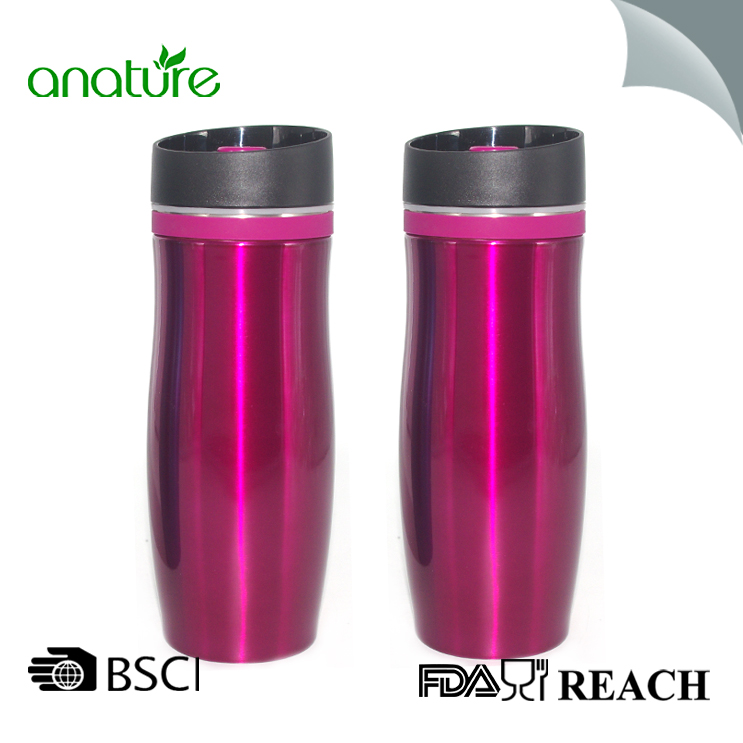 350ML Double Wall Insulated Thermos Coffe Mug