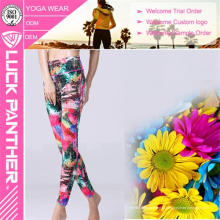 Moda Feminina Yoga Fitness Calças Corrida Esporte Leggings