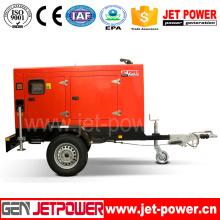 Générateur mobile électrique 25kVA Générateur diesel portable 20kw