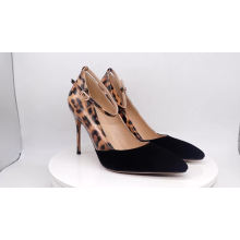2019 High Heel Stiletto Women's Pumps Leopard Leather x19-c113 Ladies women Sexy Shoes Heels For Lady