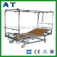 Cama de muebles ortopédicos con cuatro palancas giratorias