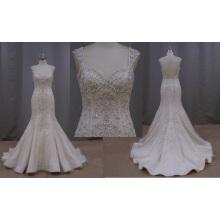Vestido de noiva sereia de volta baixa