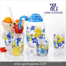 Impression 7PCS Drinking Glass Water Set