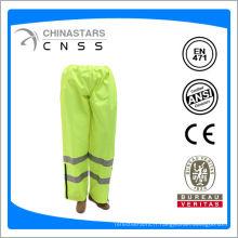 Pantalon de sécurité en tissu oxford avec fermeture à glissière