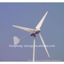 mais barato Eixo Horizontal gerador de vento 200w com cauda de ferro para sistema de iluminação de rua