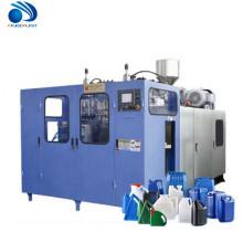 máquina de sopro semi-automática.
