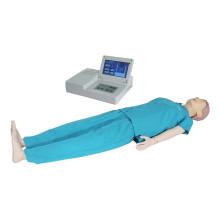 Éducation médicale Écran LCD avancé Mannequin d'entraînement en RCR humain