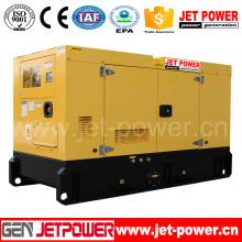 Gerador diesel do poder silencioso de 180kw Ricardo com R6126zd