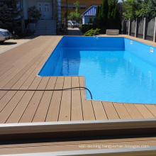 140x21mm good touch feeling wooden grooved decking